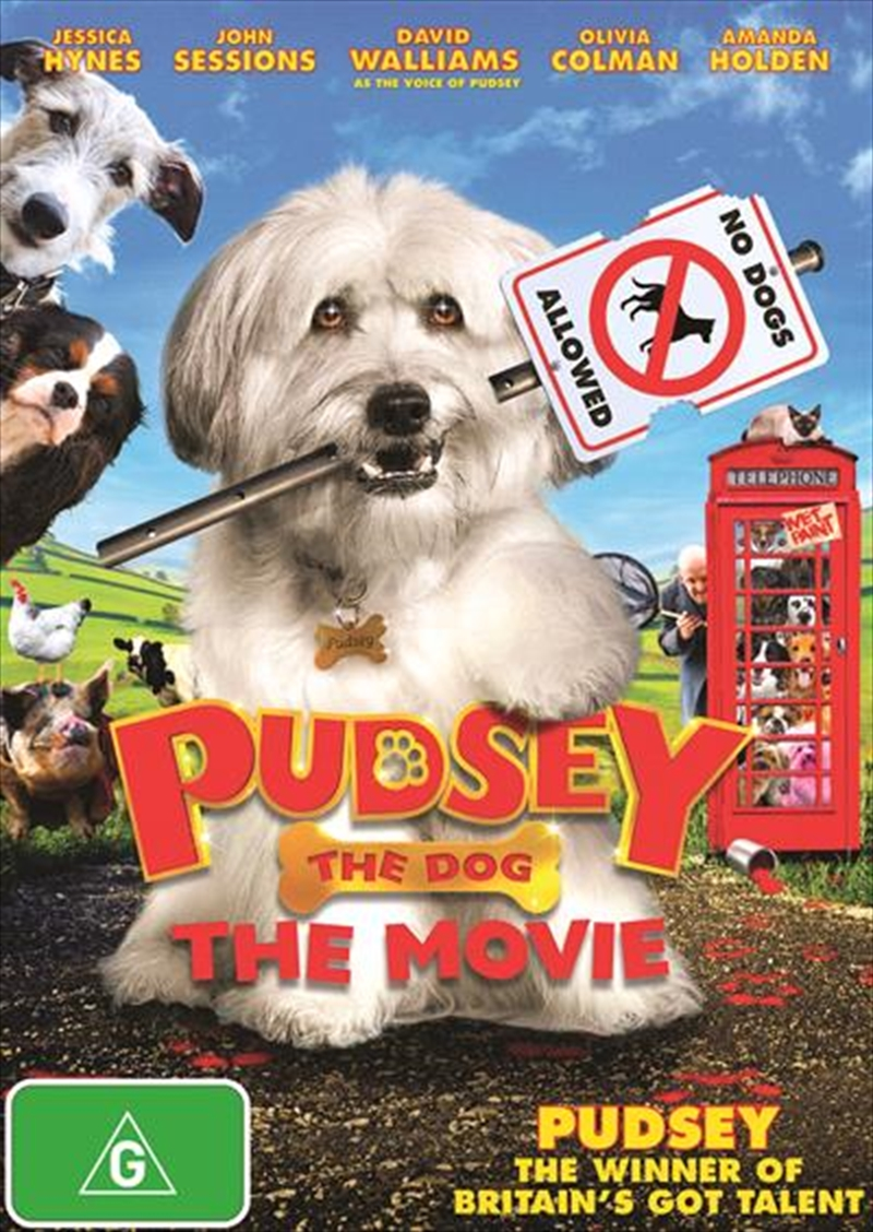 Pudsey The Dog - The Movie | DVD