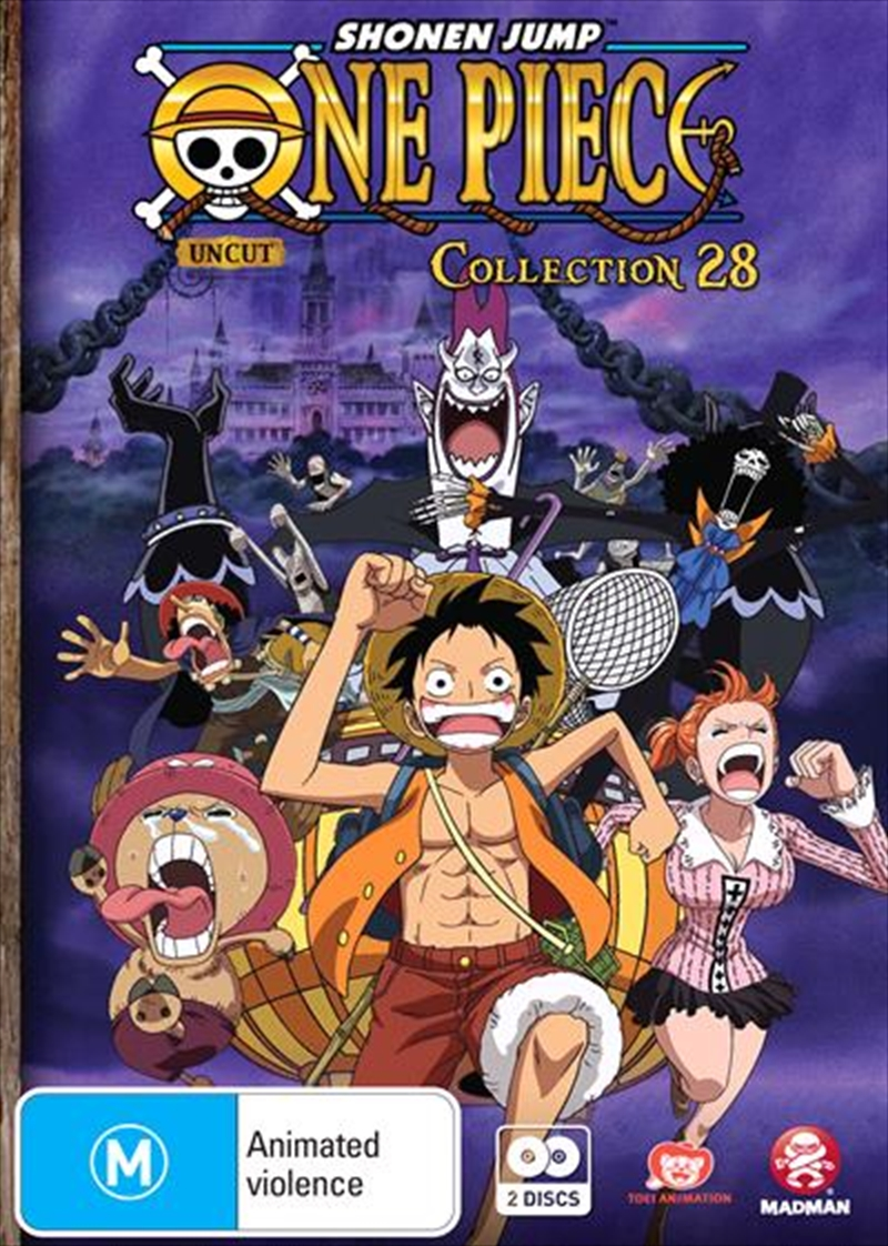 One Piece - Uncut - Collection 28 - Eps 337-348 | DVD