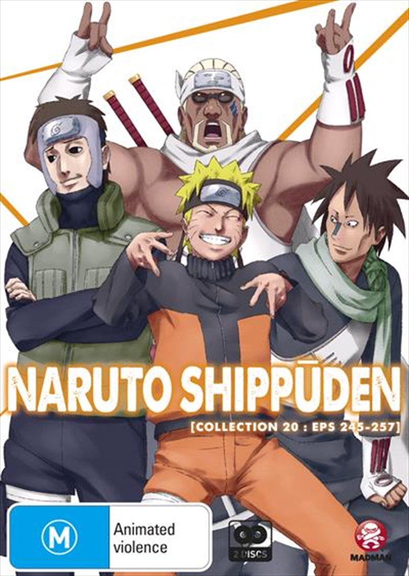 Naruto Shippuden - Collection 20 - Eps 245-257 | DVD