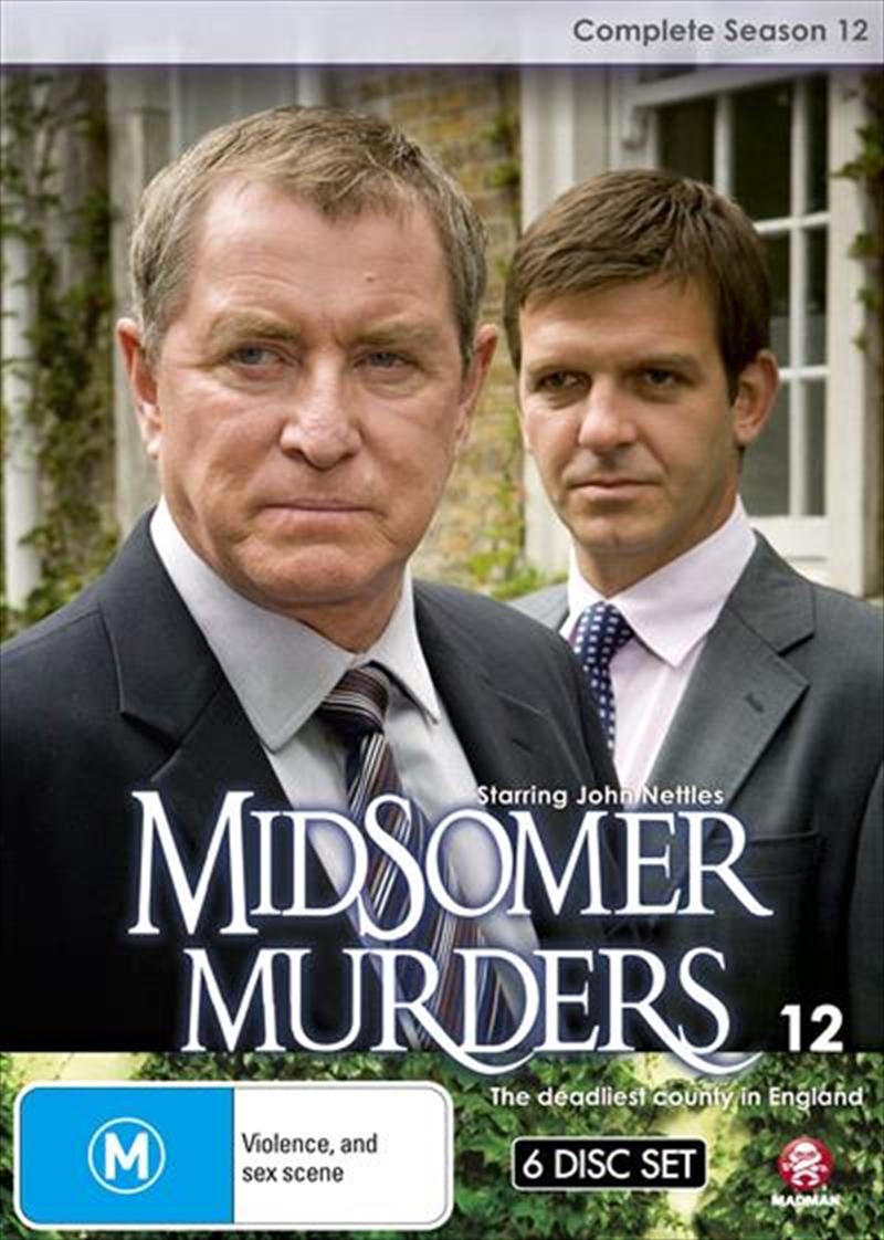 Midsomer Murders - Season 12   Single Case Version   DVD