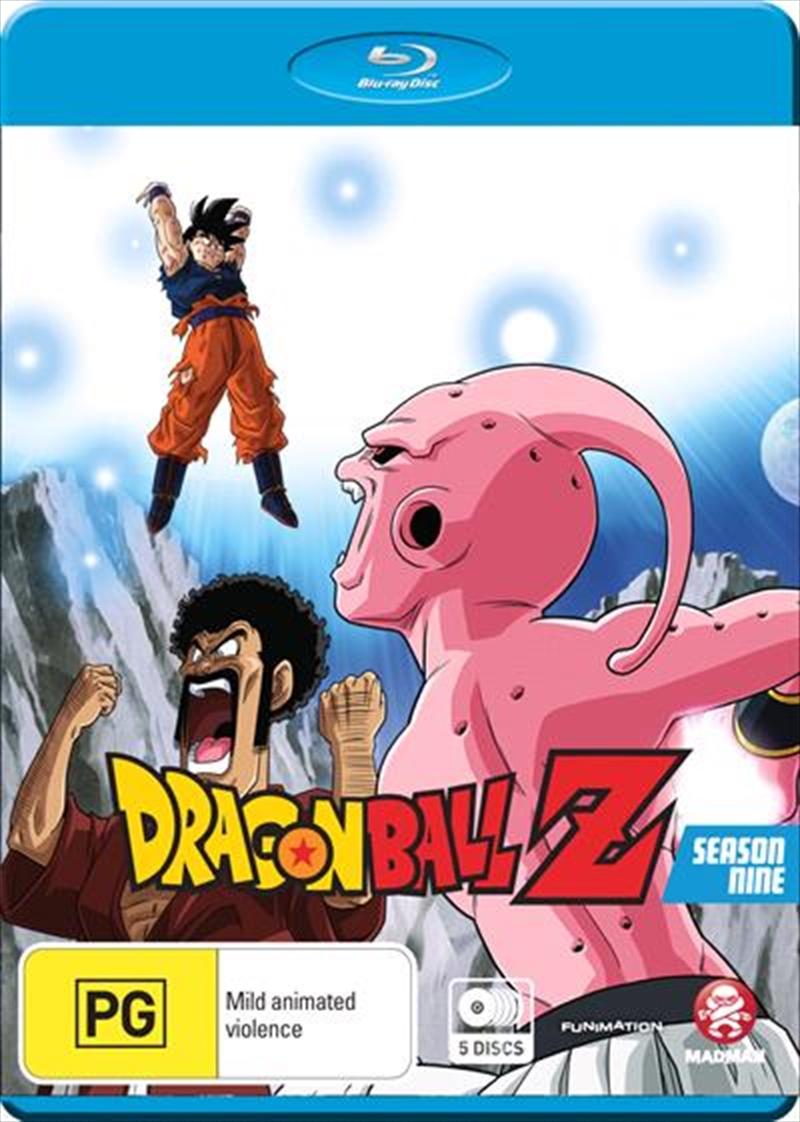 Dragon Ball Z - Remastered - Uncut Season 9   Blu-ray