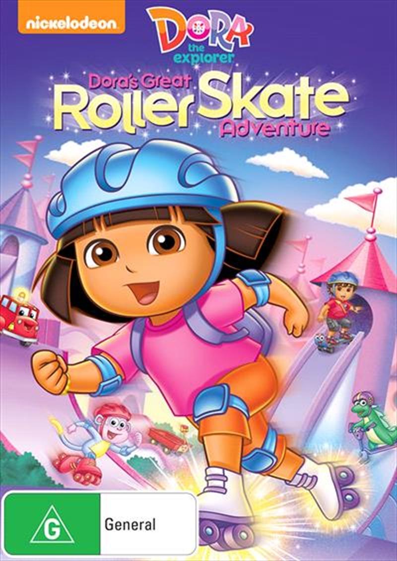Dora The Explorer - Dora's Great Roller Skate Adventure | DVD