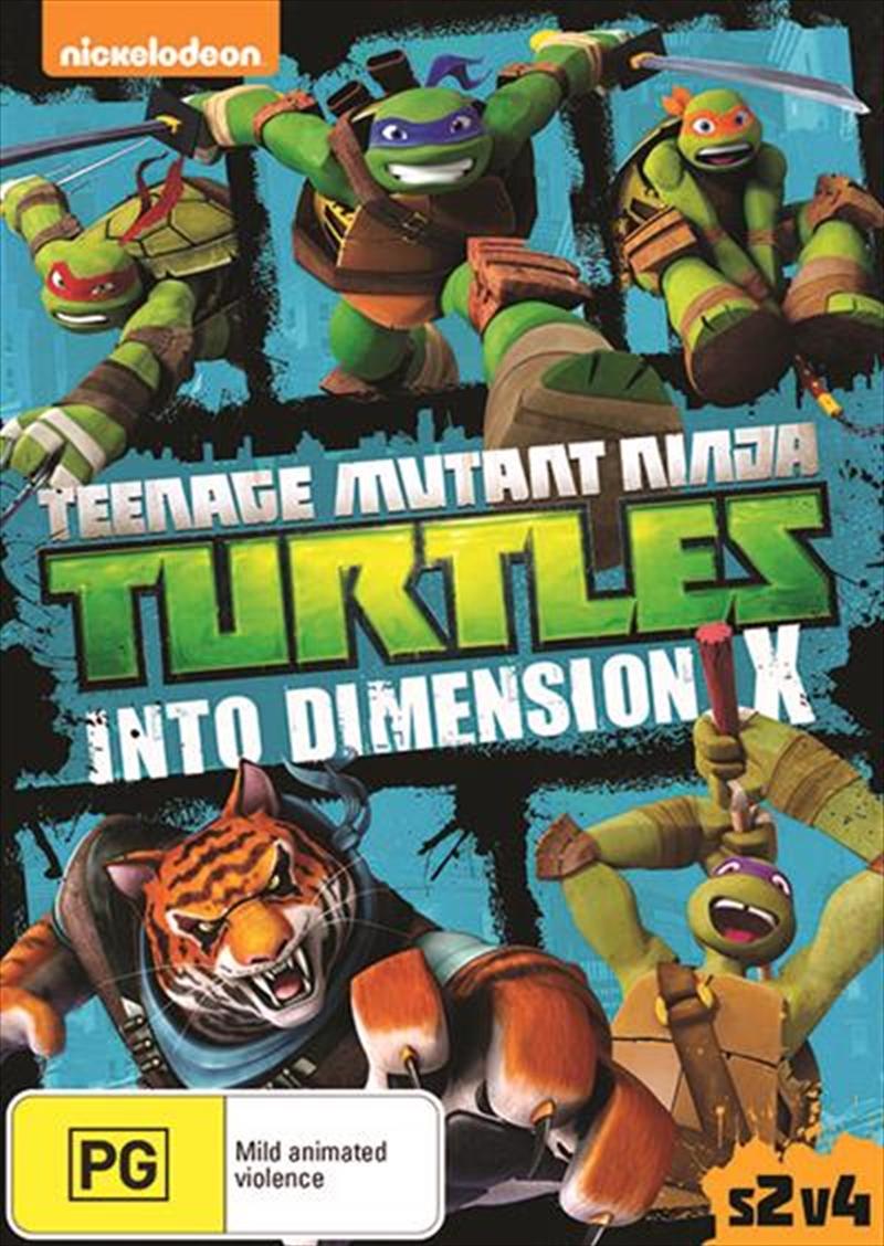 Teenage Mutant Ninja Turtles - Into Dimension X | DVD