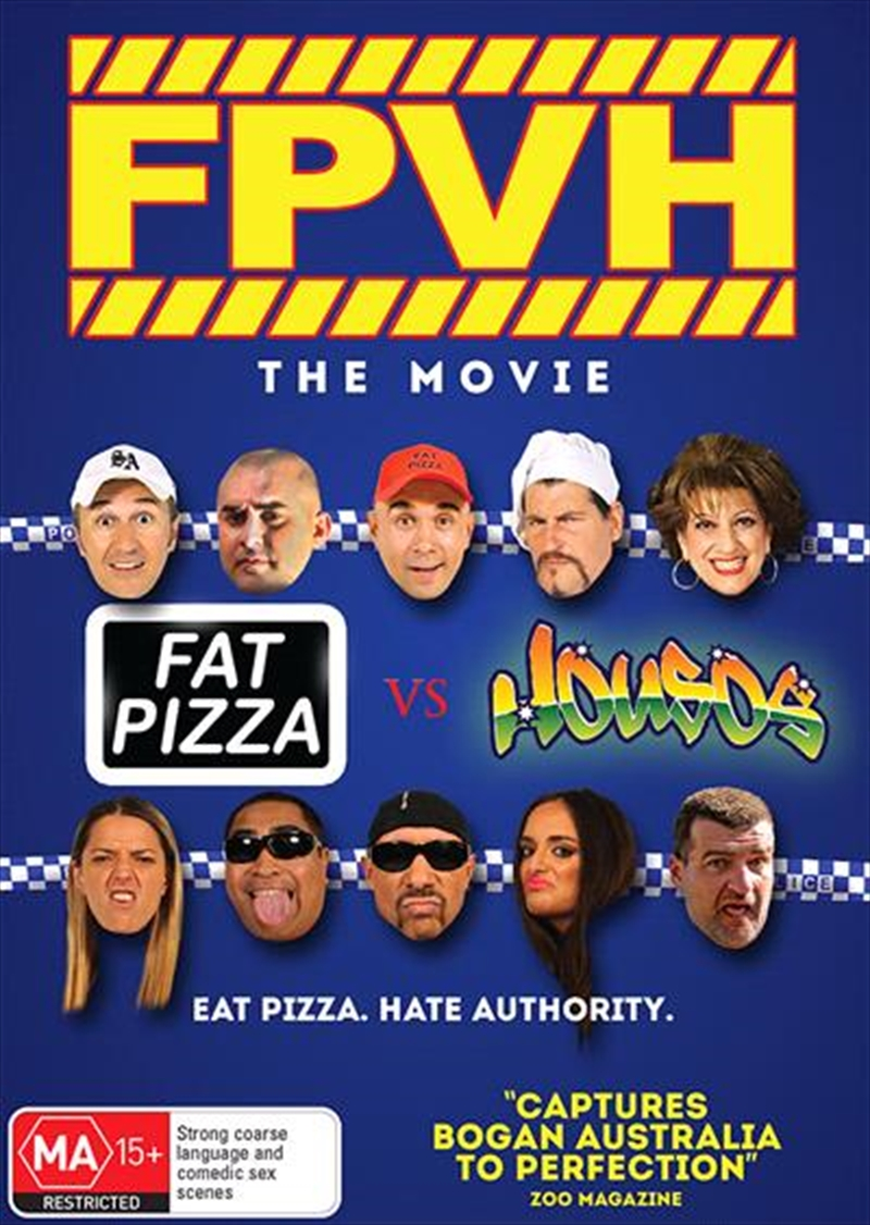 Fat Pizza Vs Housos | DVD