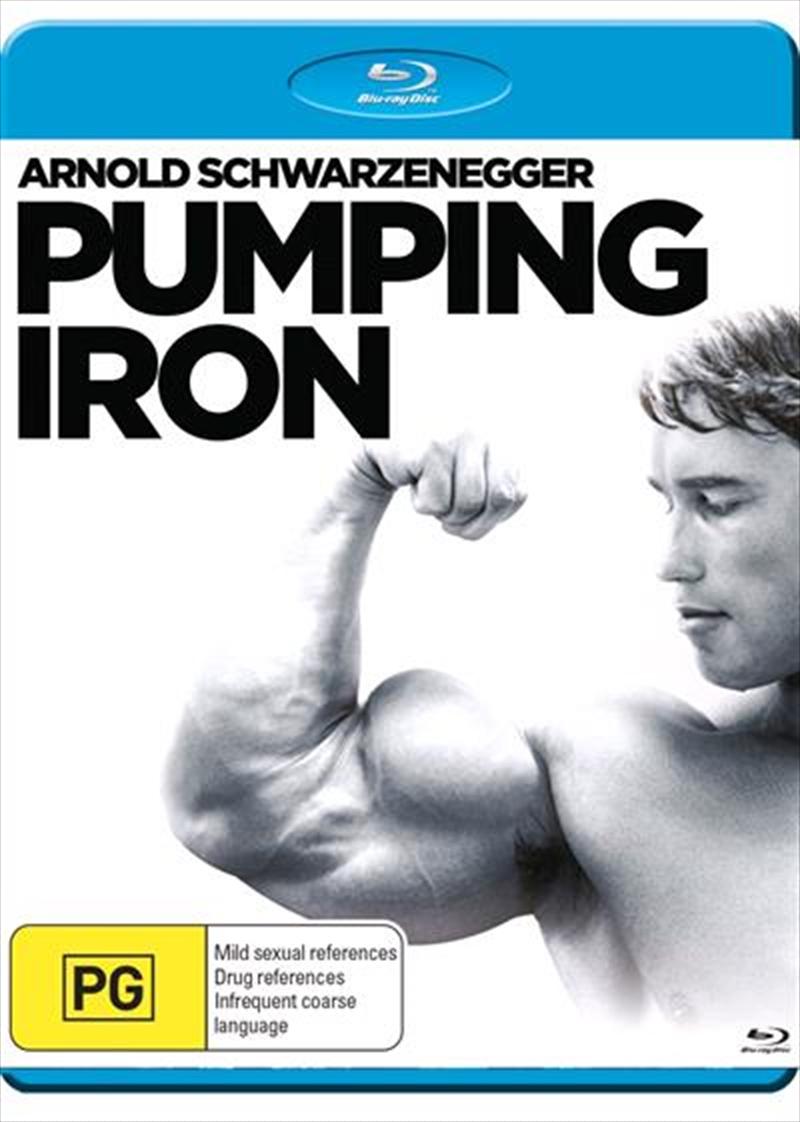 Pumping Iron   Blu-ray