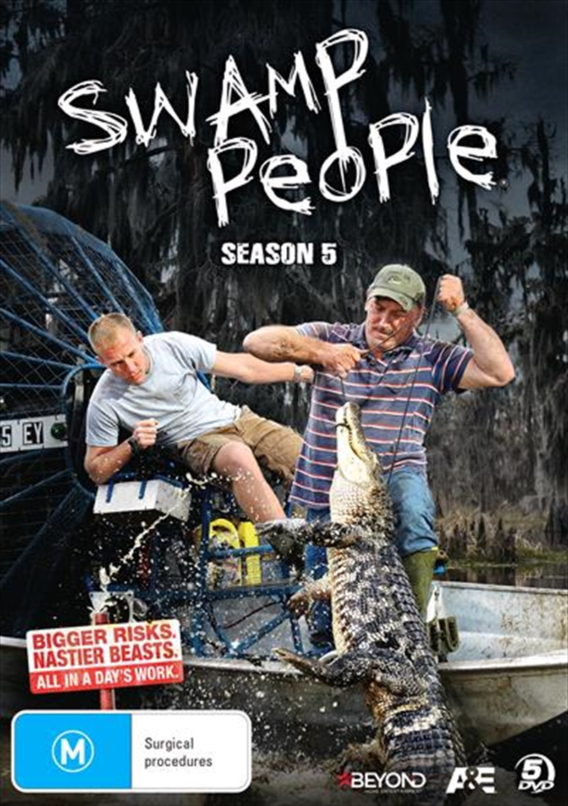 Swamp People - Season 5 | DVD