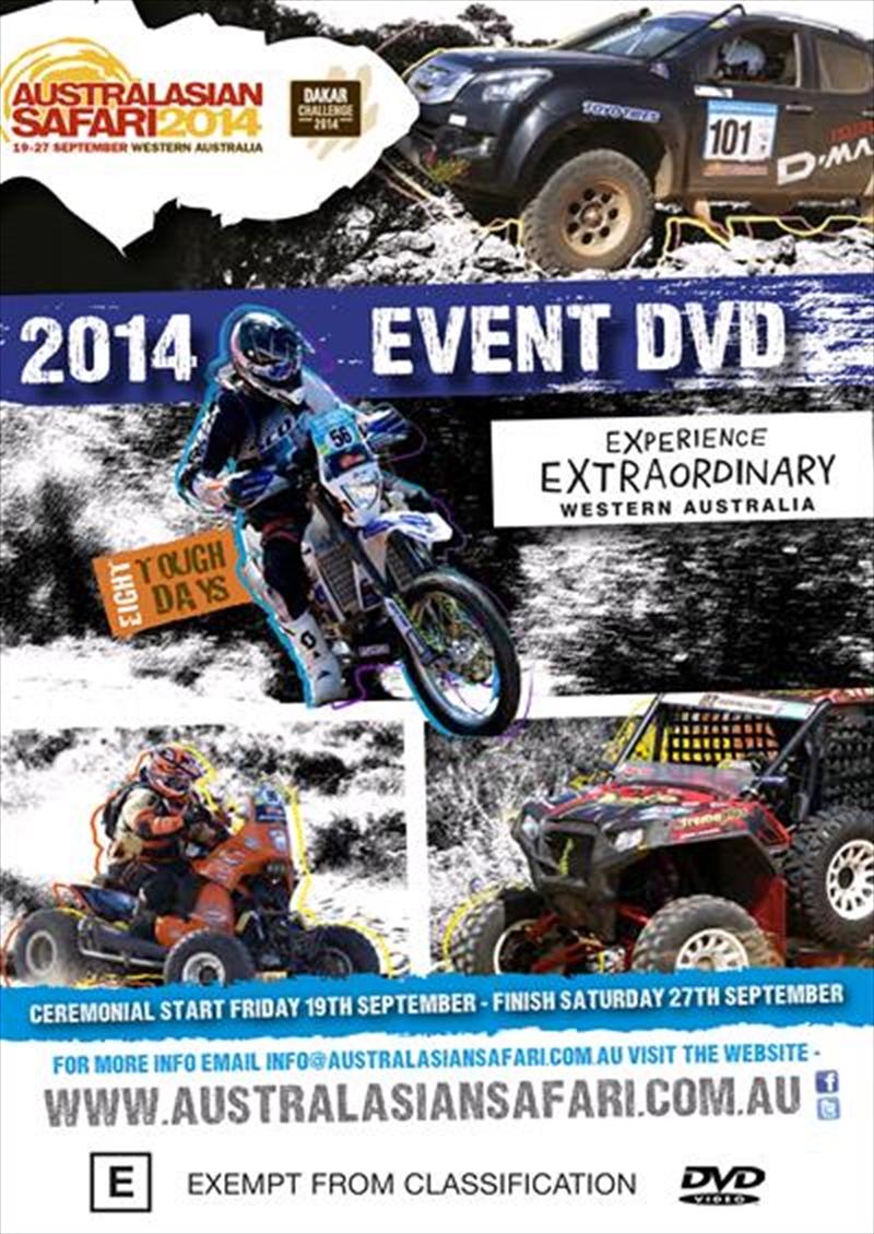 Australasian Safari: 2014 Highlights | DVD