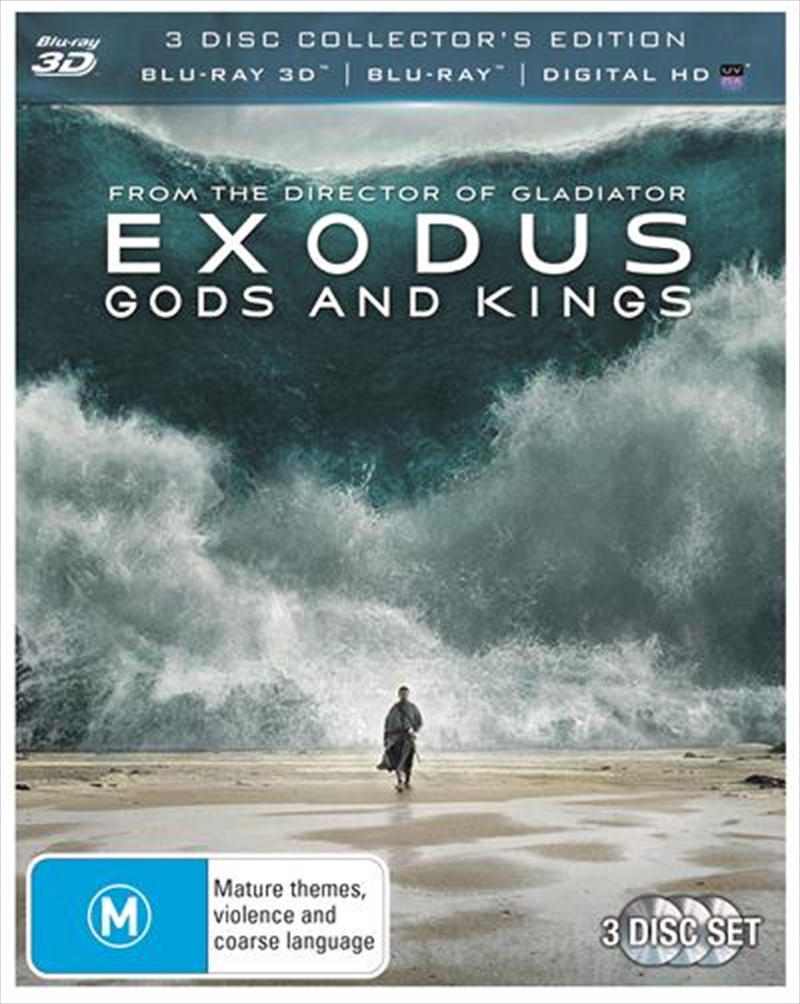 Exodus - Gods And Kings | Blu-ray 3D