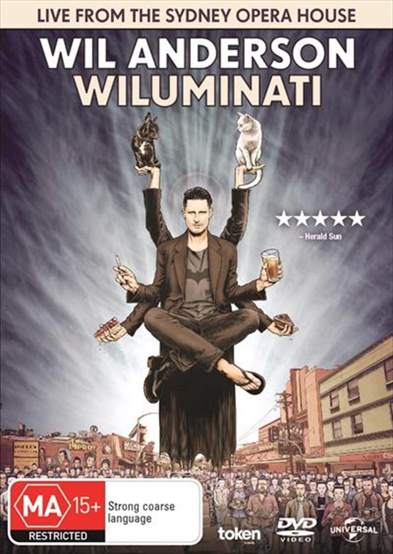 Wil Anderson - Wiluminati | DVD
