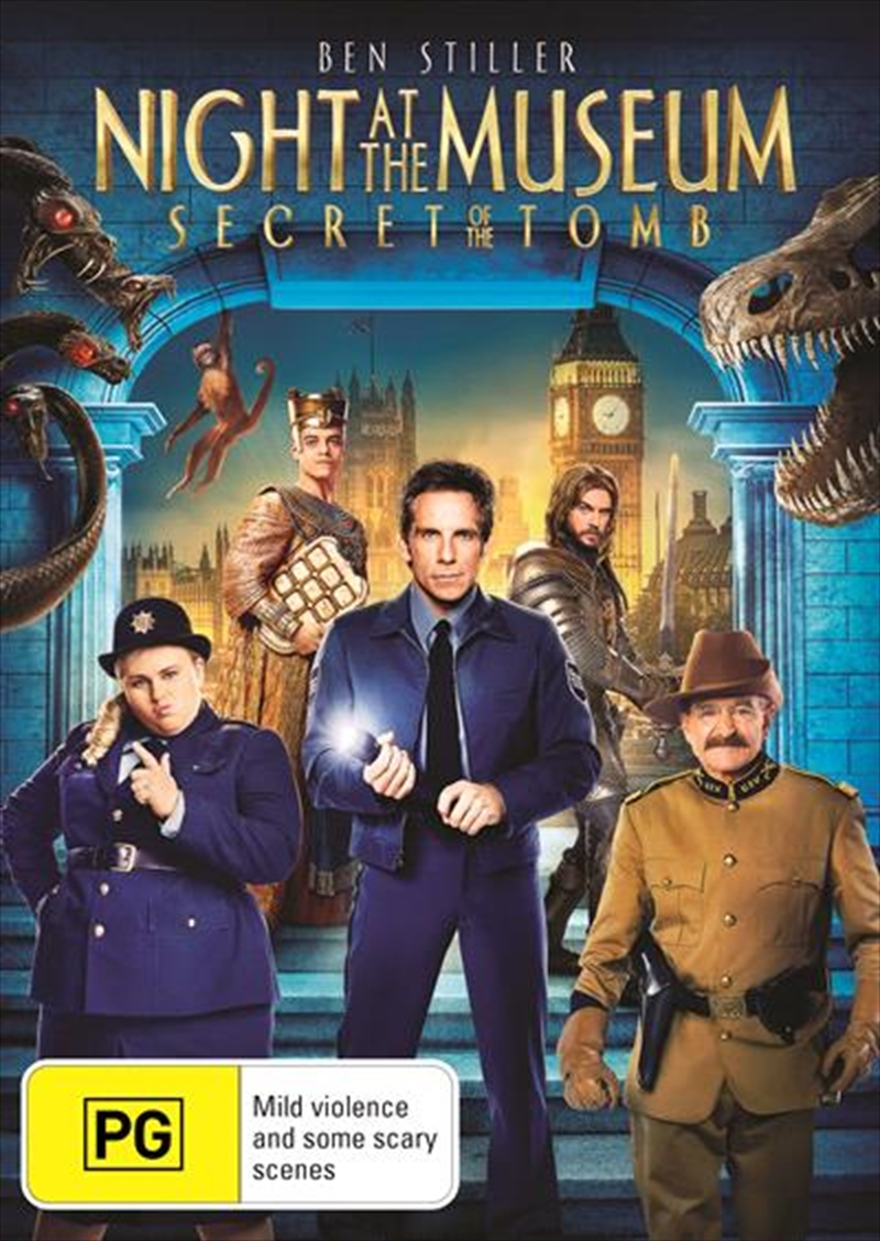 Night At The Museum 3 - Secret Of The Tomb | DVD