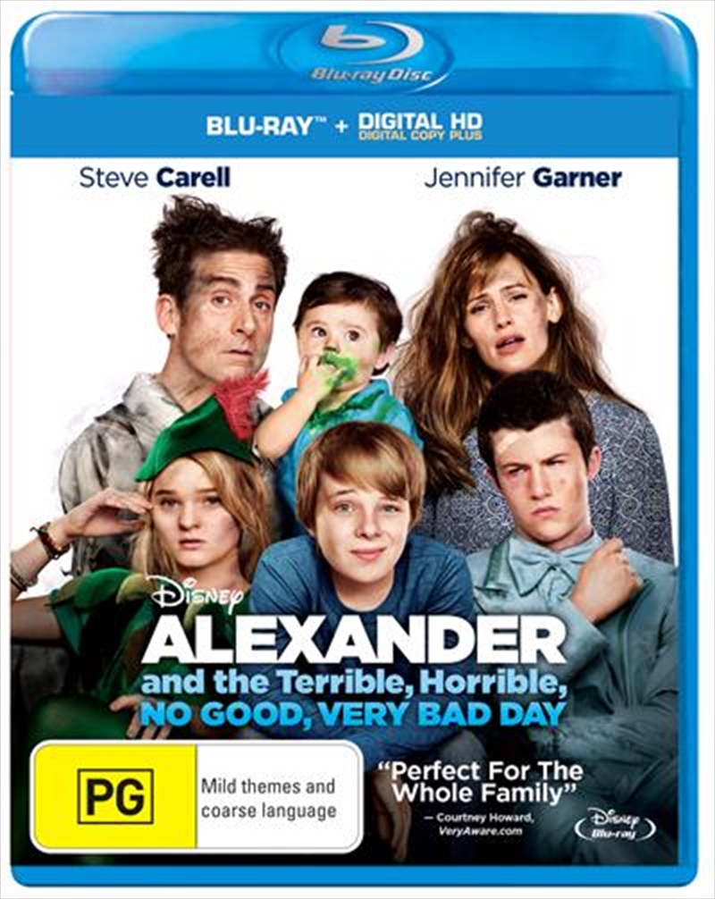 Alexander And The Terrible, Horrible, No Good, Very Bad Day | Digital Copy | Blu-ray