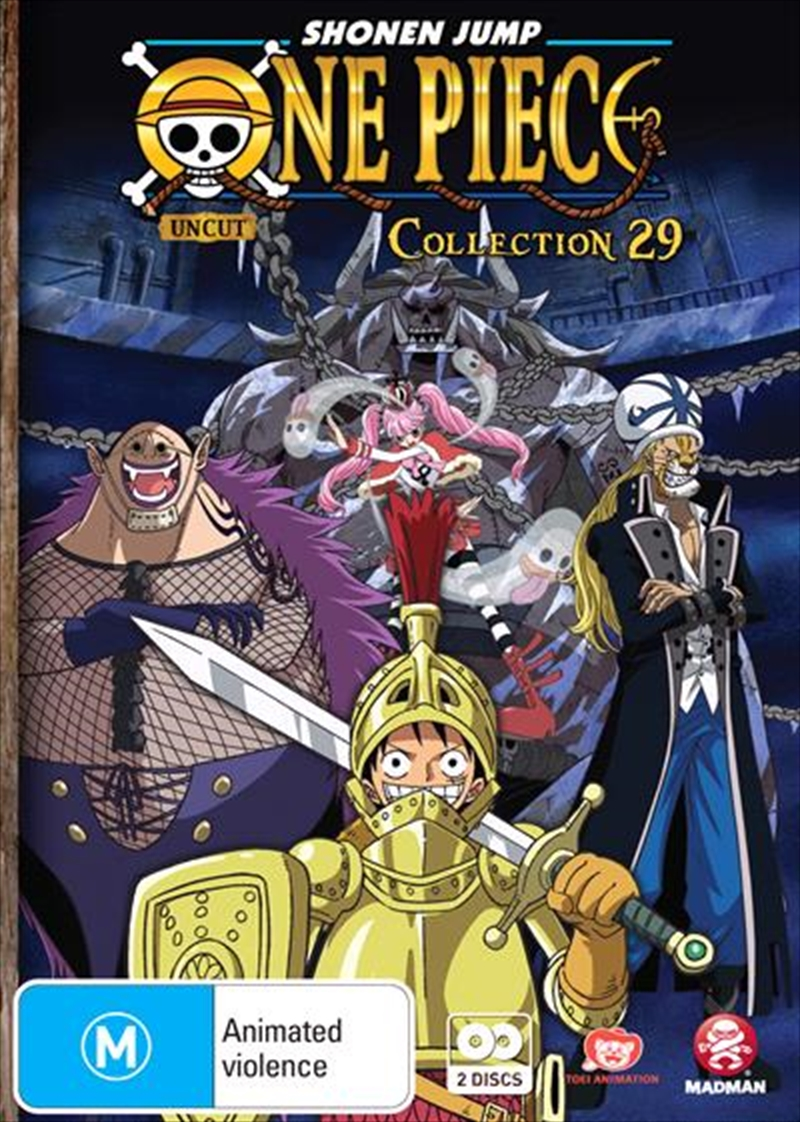 Buy One Piece Uncut Collection 29 On Dvd Sanity