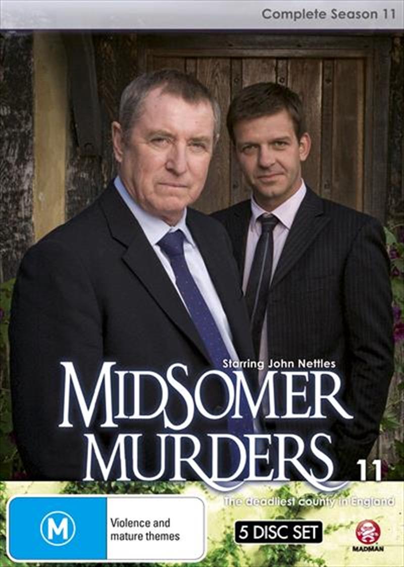 Midsomer Murders - Season 11   Single Case Version   DVD