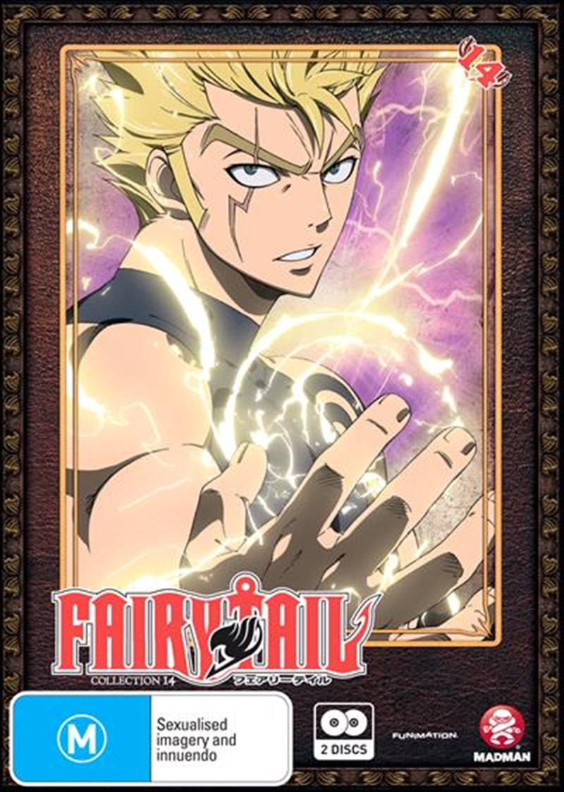 Fairy Tail - Collection 14 - Eps 154-164 | DVD