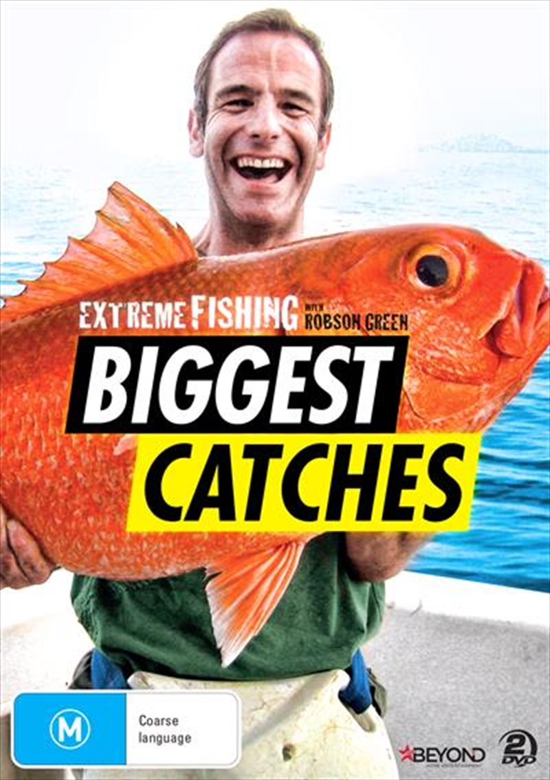 Extreme Fishing With Robson Green - Biggest Catches | DVD