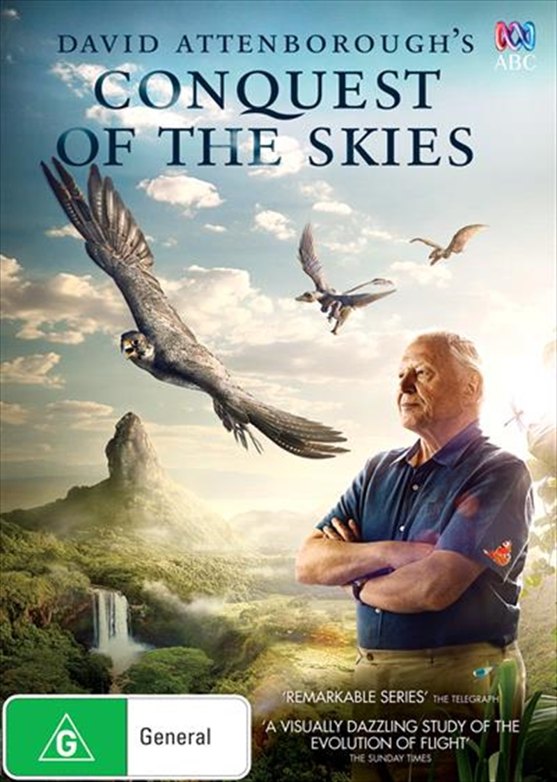 David Attenborough - Conquest Of The Skies | DVD