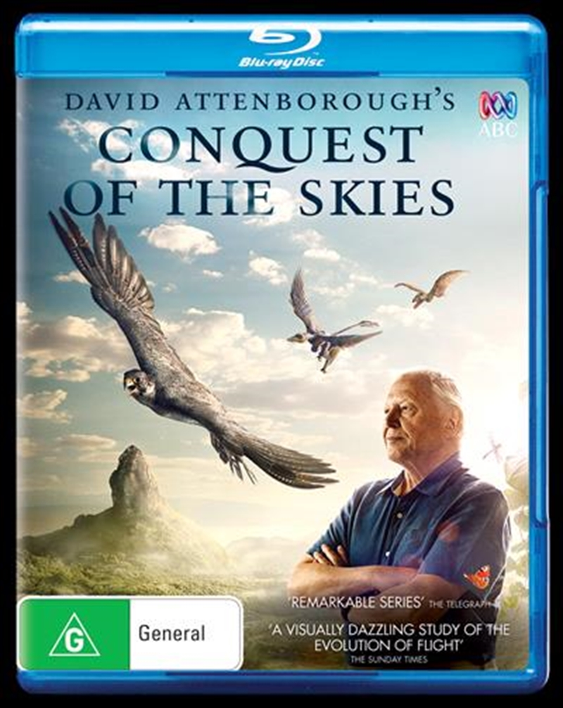David Attenborough - Conquest Of The Skies | Blu-ray
