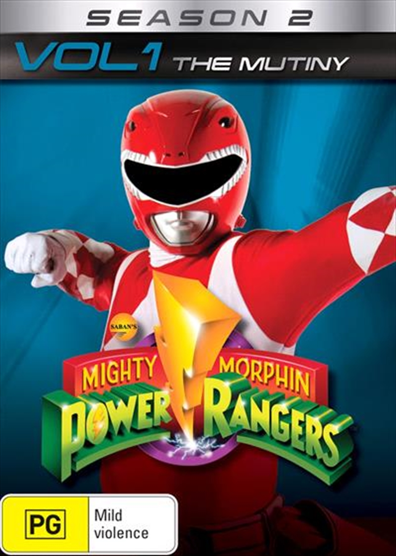 Buy Mighty Morphin Power Rangers The Mutiny Season 2 Vol 1