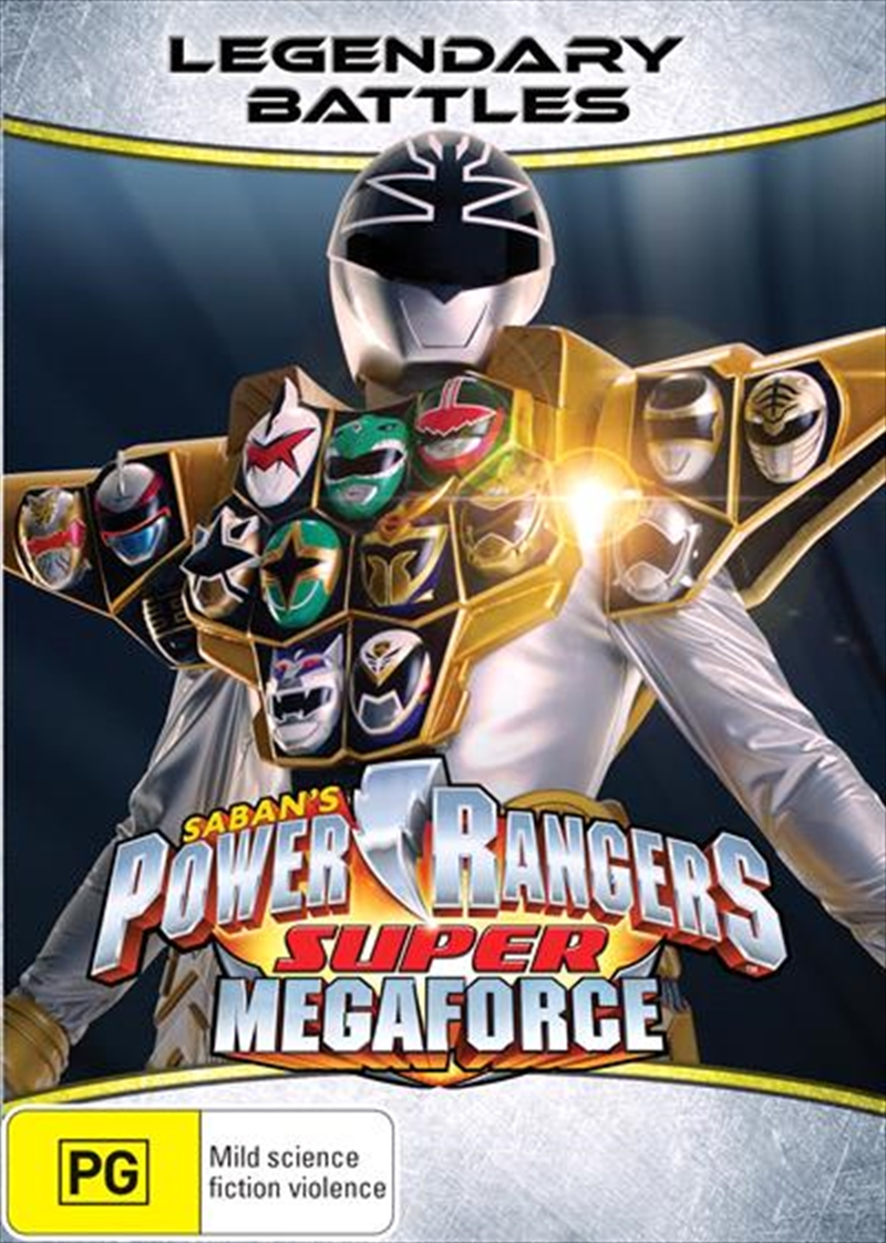 Power Rangers - Super Megaforce - Vol 3 | DVD