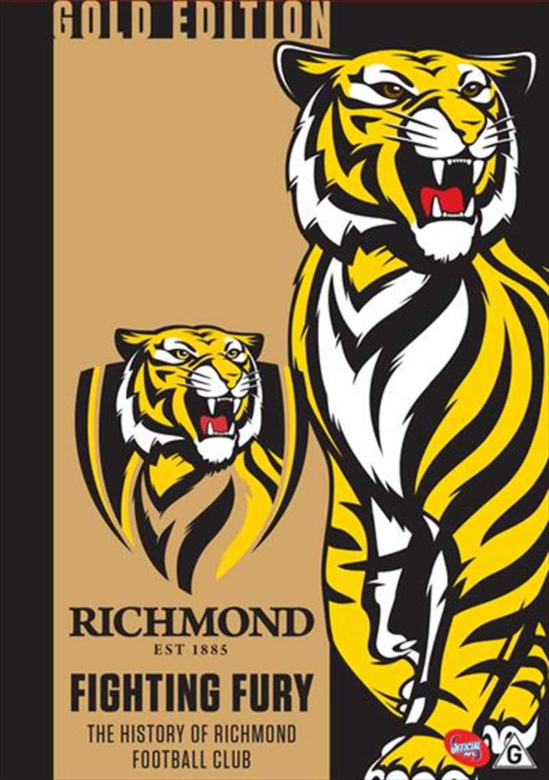 Buy Afl Fighting Fury Richmond History Gold Edition On