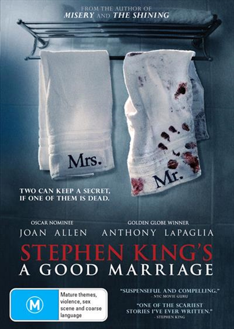 A Good Marriage   DVD