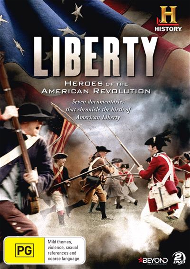 Liberty - Heroes Of The American Revolution | DVD