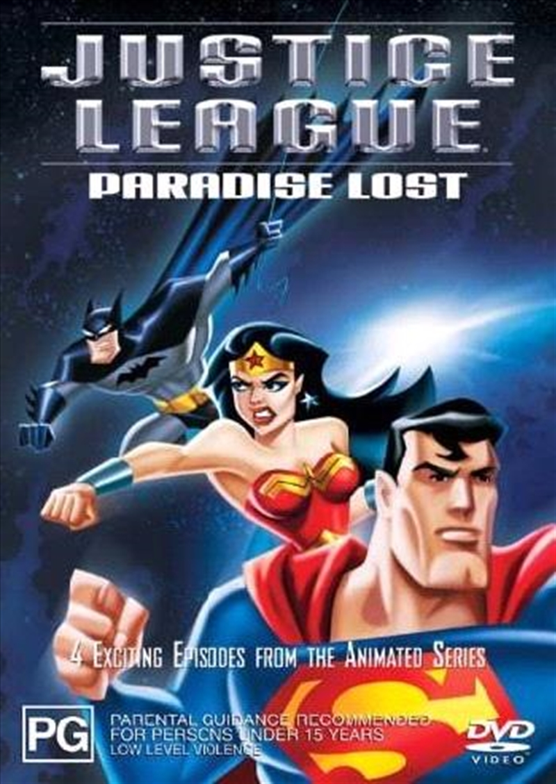 Justice League - Paradise Lost | DVD