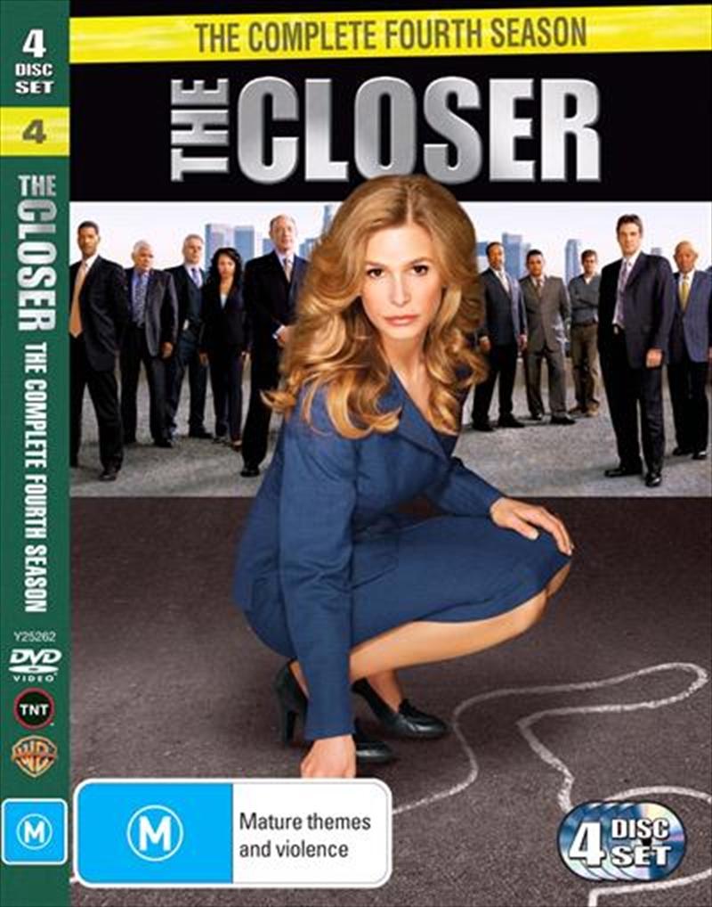 Closer, The - Season 04   DVD
