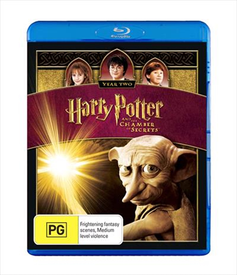 Harry Potter And The Chamber Of Secrets | Blu-ray
