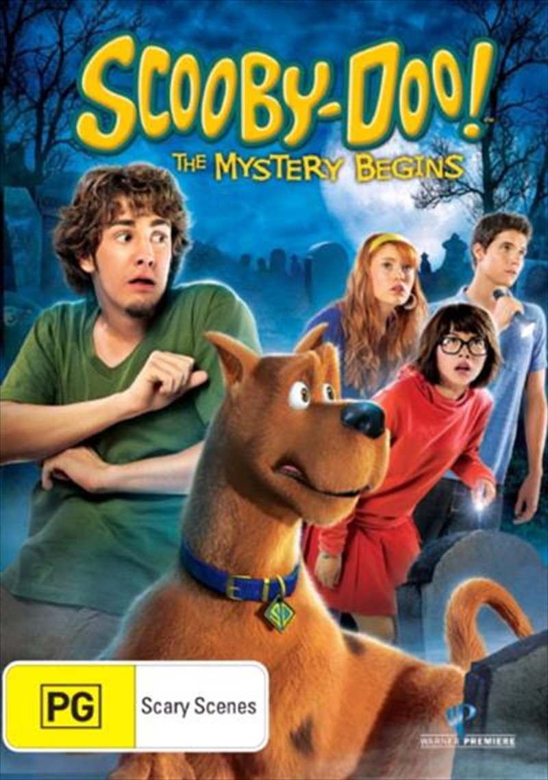 Scooby-Doo! - The Mystery Begins | DVD