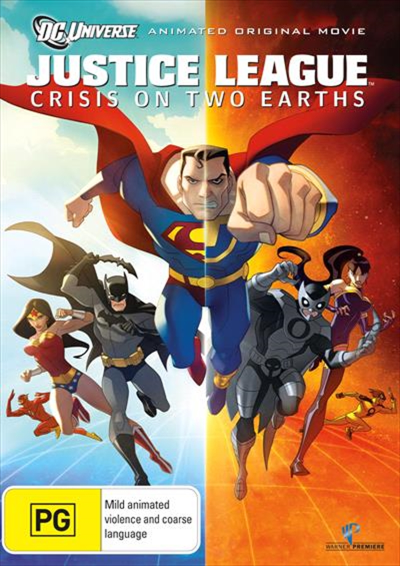 Justice League - Crisis On Two Earths | DVD