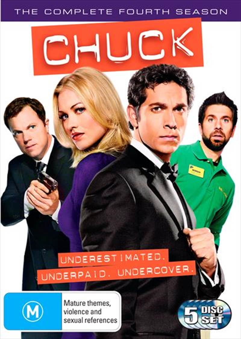 Chuck - Season 4 | DVD