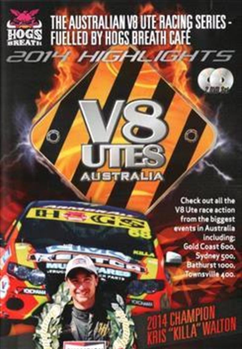 V8 Utes Australia - Championship 2014 Series Highlights   DVD