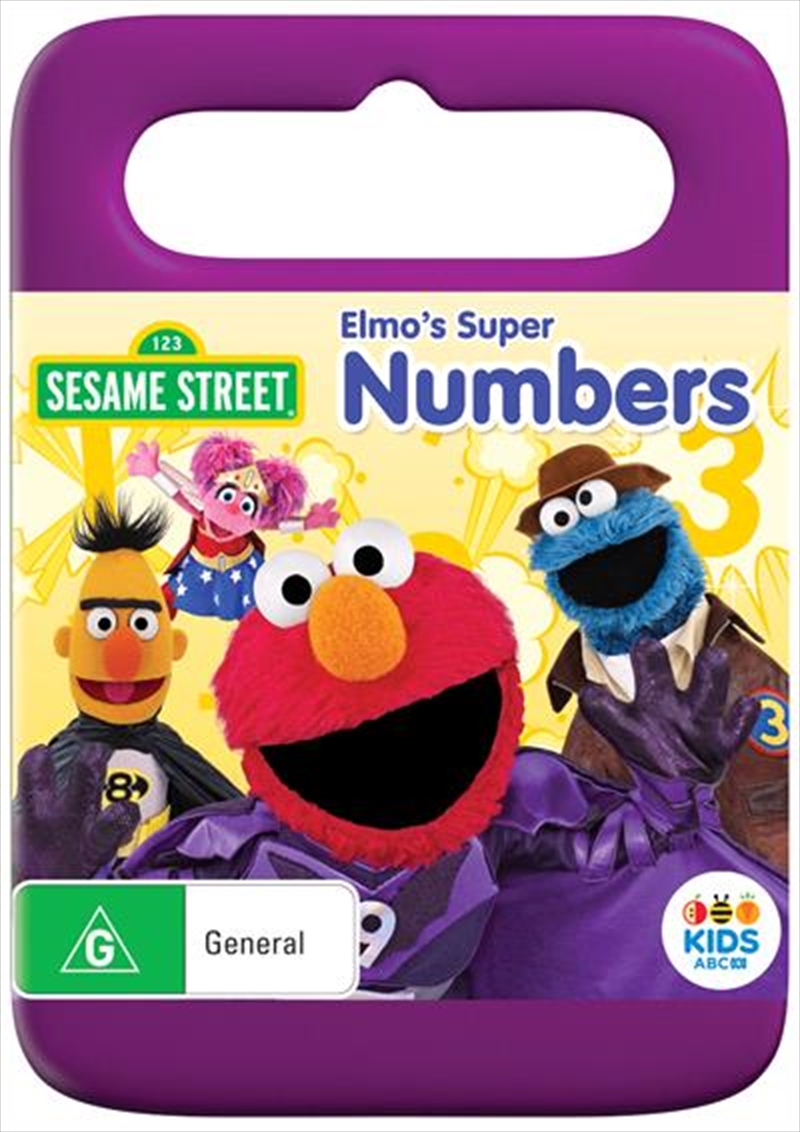 Sesame Street - Elmo's Super Numbers | DVD