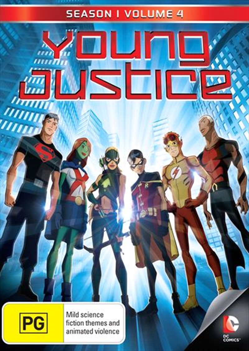 Buy Young Justice Season 1 Vol 4 On Dvd Sanity