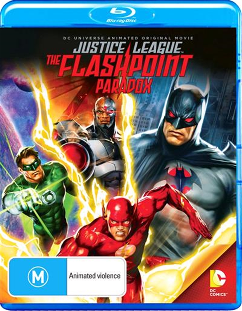 Justice League - Flashpoint Paradox | Blu-ray