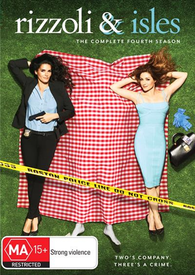 Rizzoli and Isles - Season 4 | DVD