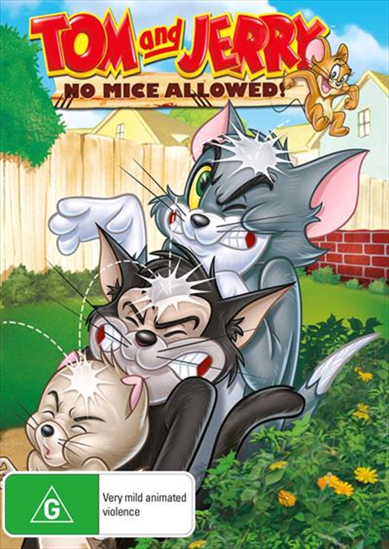 Tom And Jerry - No Mice Allowed   DVD