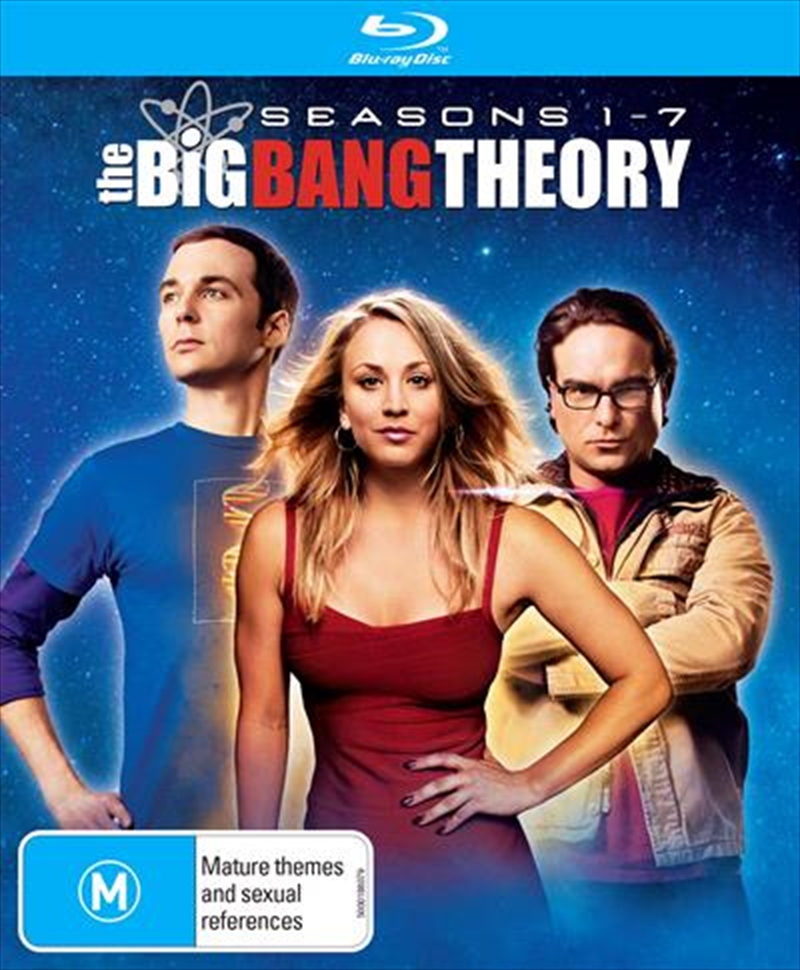 Big Bang Theory - Season 1-7 | Boxset, The | Blu-ray