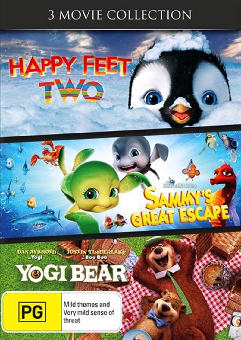 Sammy 2 / Yogi Bear / Happy Feet Two | DVD