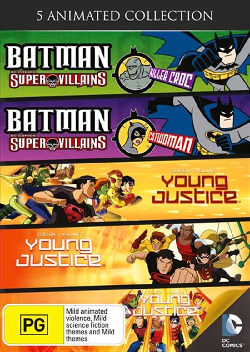 Batman Super Villains/Young Justice | DVD