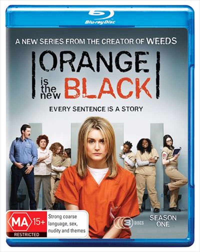 Orange Is The New Black - Season 1   Blu-ray