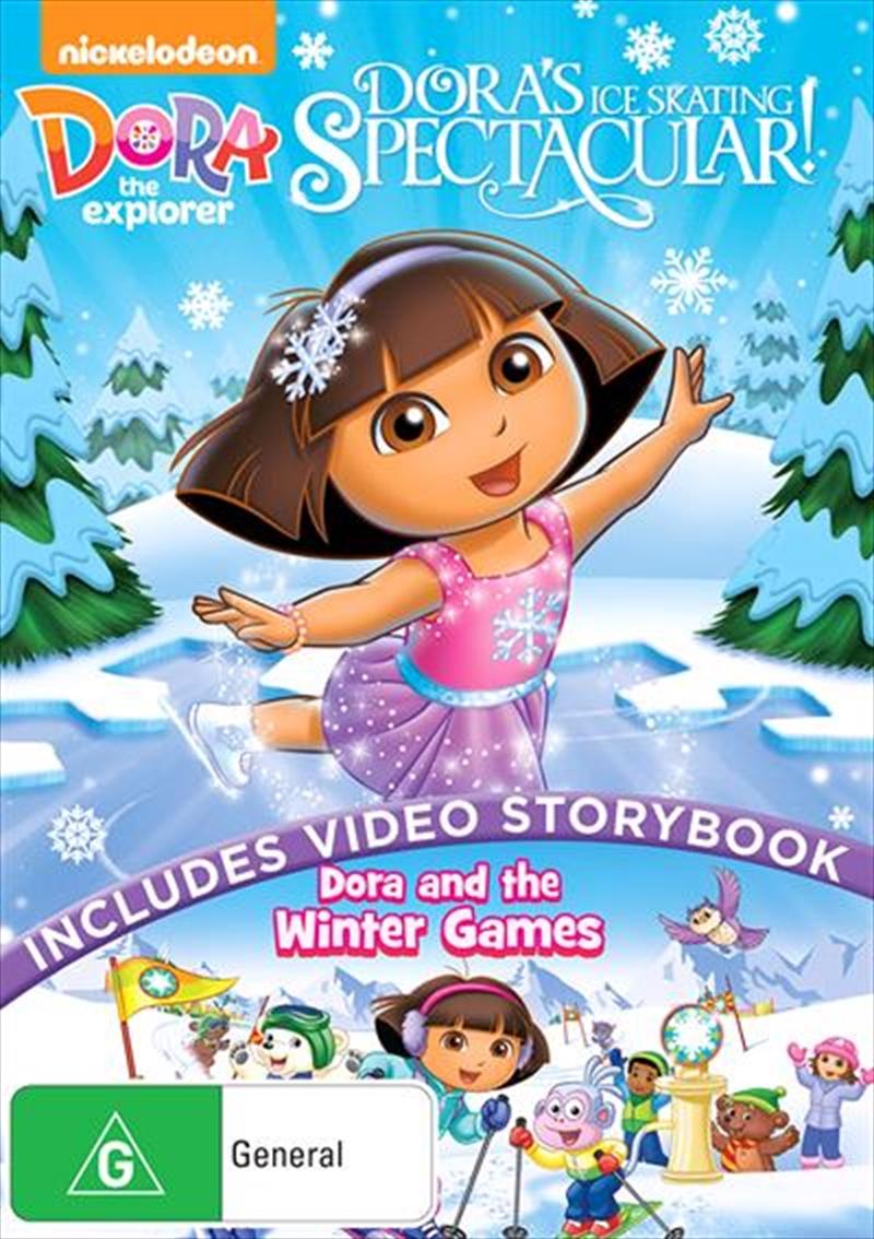 Dora The Explorer - Dora's Ice Skating Spectacular | DVD