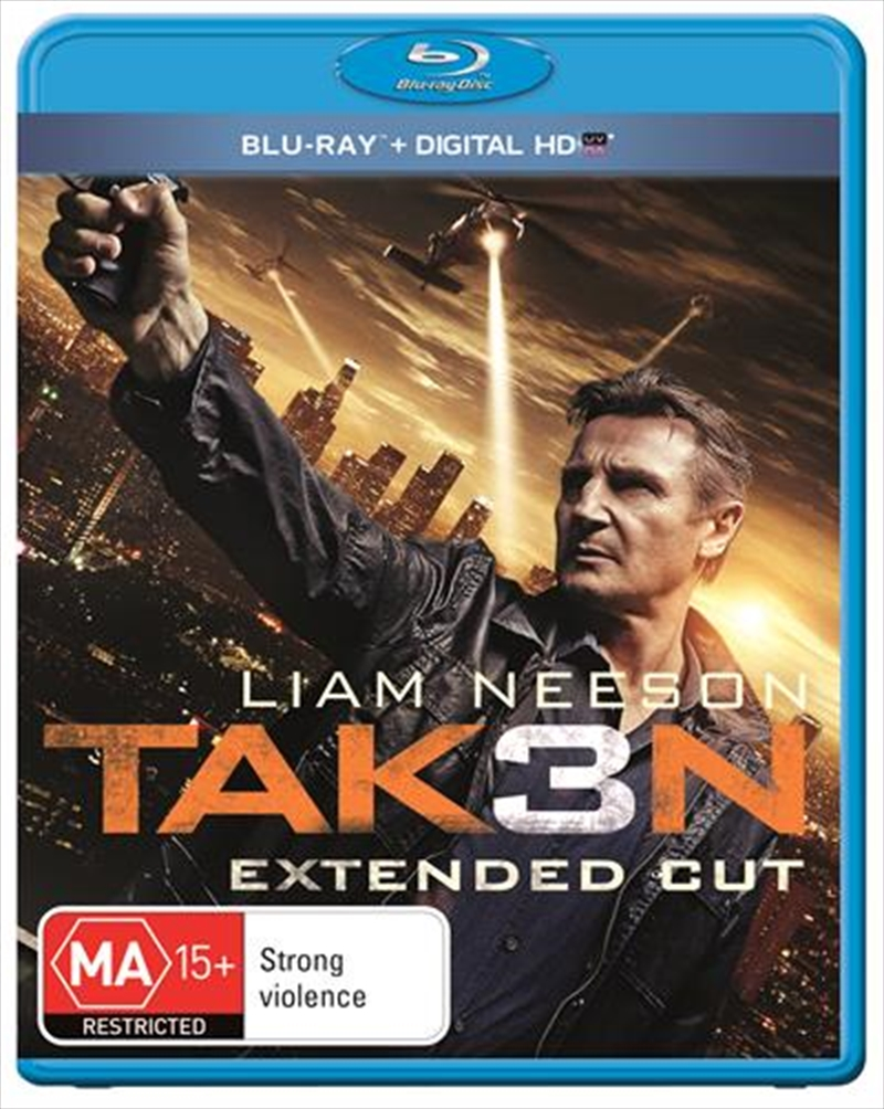 Taken 3 - Extended Edition | Blu-ray