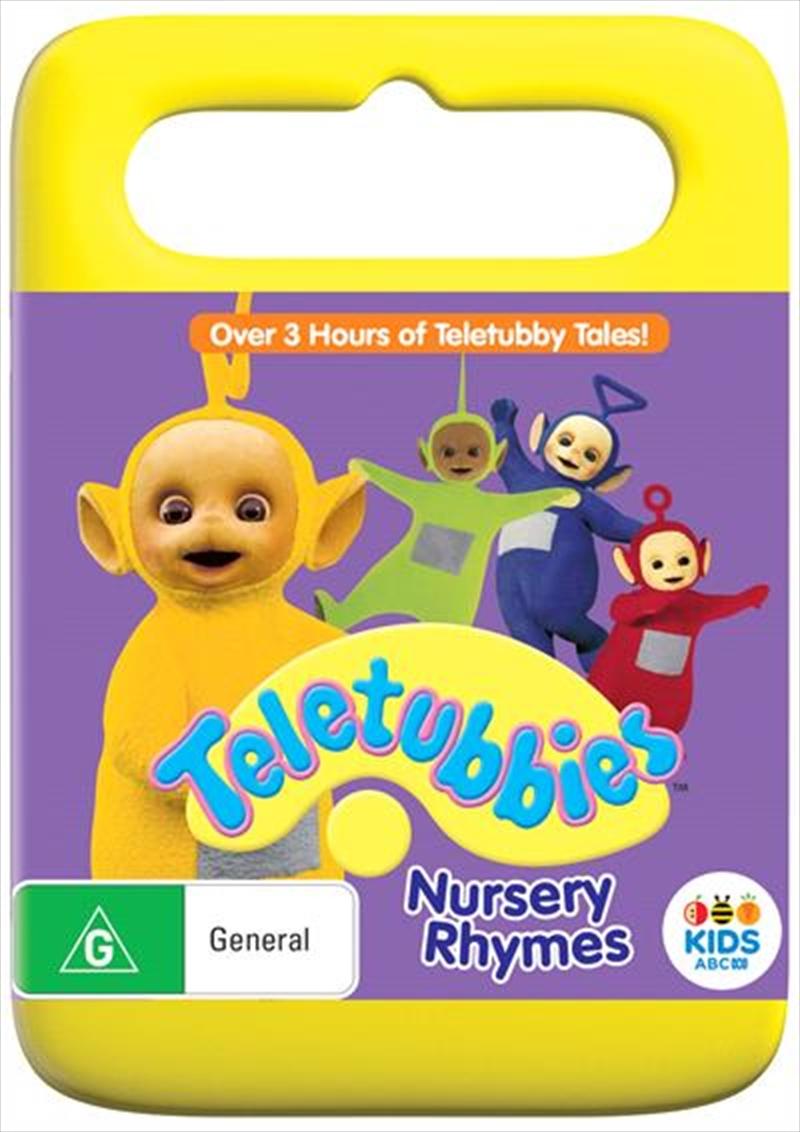 Teletubbies Nursery Rhymes Childrens Dvd Sanity