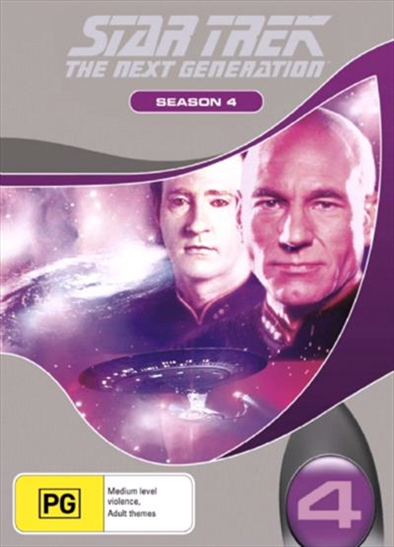 Star Trek Next Generation DVD Box Set Season 04 (New Packaging)   DVD