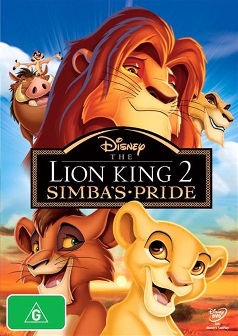 Lion King 2 - Simba's Pride , The | DVD