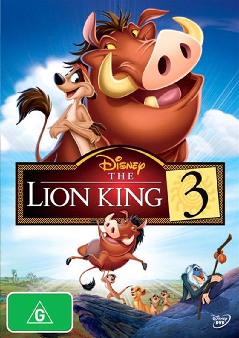 Lion King 3 - Hakuna Matata, The | DVD