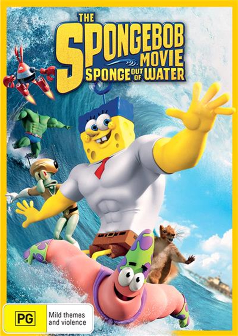 Spongebob Movie - Sponge Out Of Water, The | DVD