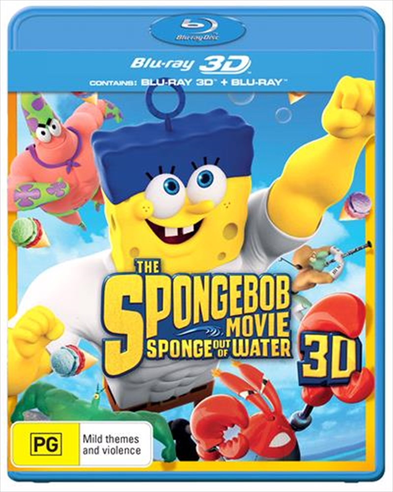Spongebob Movie - Sponge Out Of Water, The | Blu-ray 3D